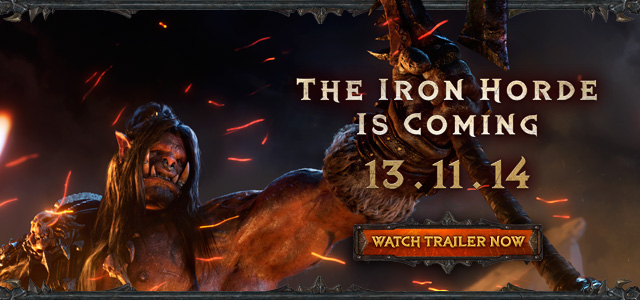Warlords of Draenor™ Launches 13/11—Watch the Cinematic & Lords of War: Part 1 Now!