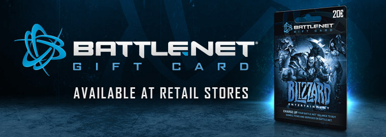 Introducing the Battle.net Gift Card