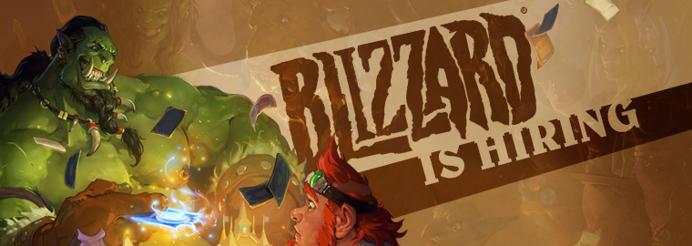 Blizzard is Hiring