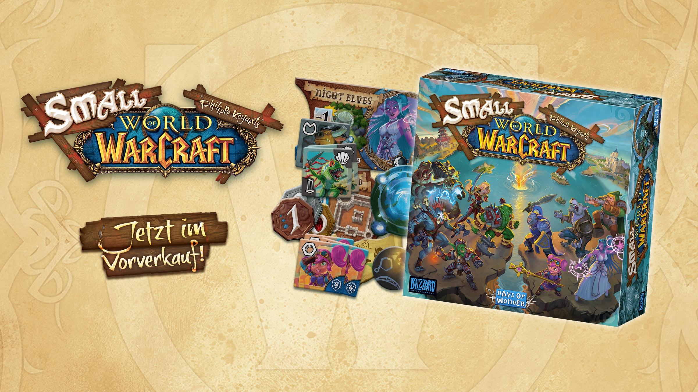 Small World of Warcraft ist jetzt im Vorverkauf erhältlich