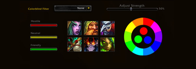 New Colorblind Support in Patch 6.1