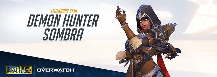 Strike From the Shadows as Demon Hunter Sombra