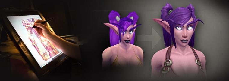 Artcraft—Huntress of Teldrassil