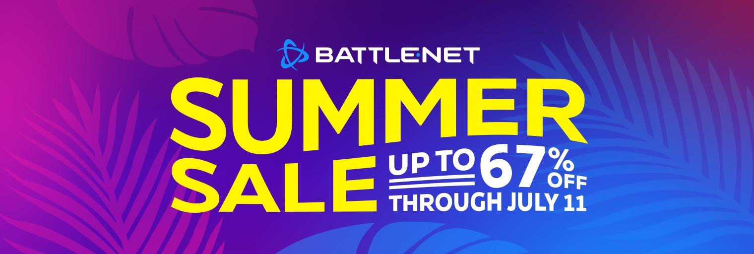 The Battle.net Summer Sale is here!