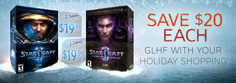 Blizzard Sale - Save up to 75%!