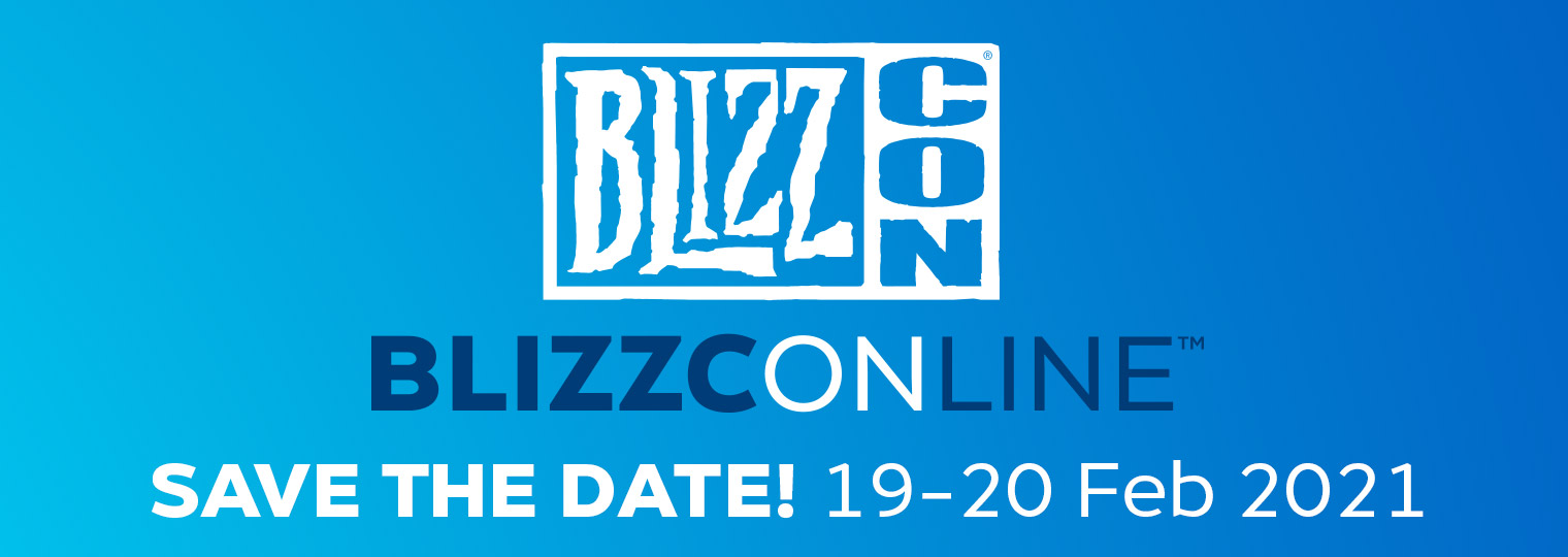 Save the Date for BlizzConline™ 19–20 February