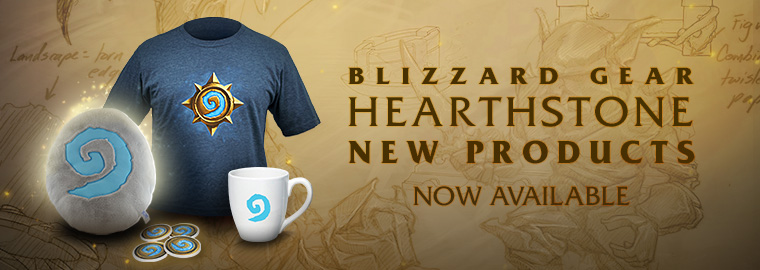 New Hearthstone Products in the Blizzard Gear Store