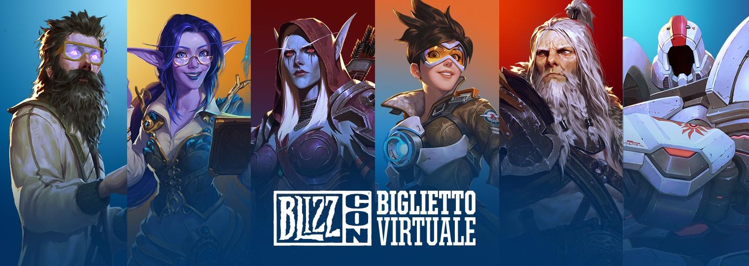 Fai fare il salto di qualità alla tua esperienza BlizzCon® 2019 da casa con il biglietto virtuale