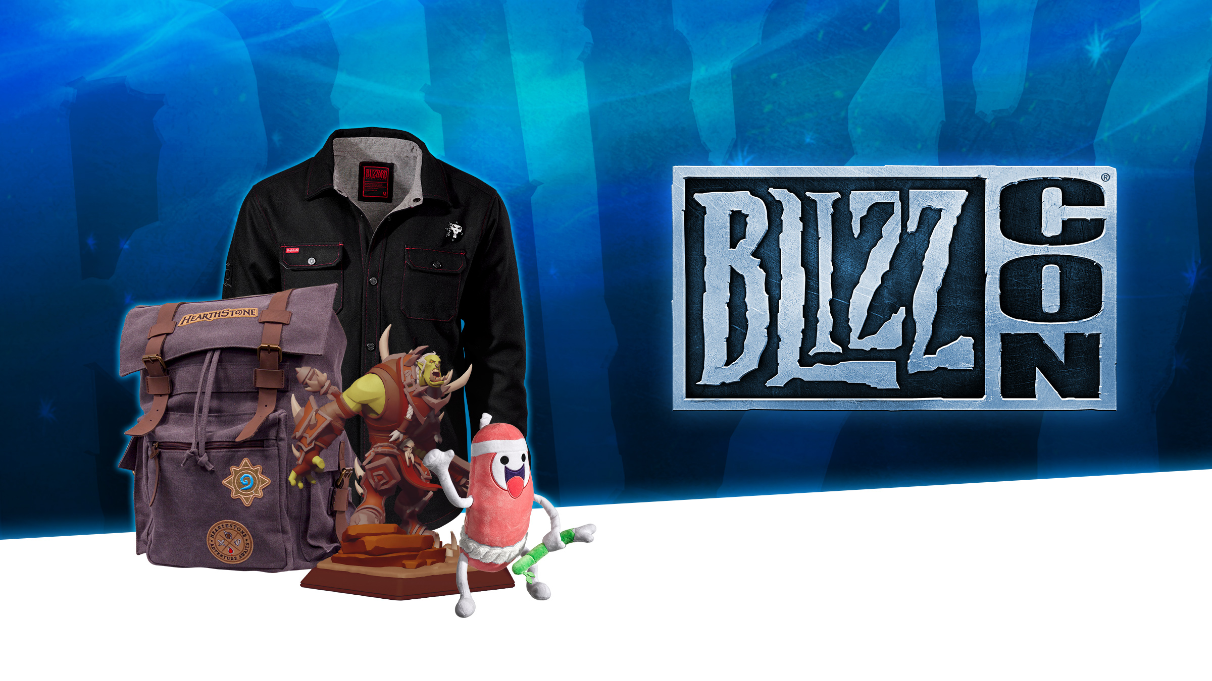 BlizzCon 2018 Online Merchandise Sale Early Access Begins!