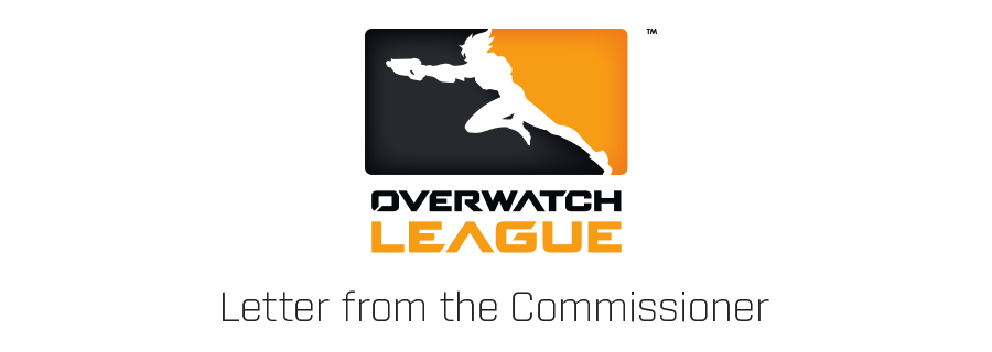Message du commissaire de la Ligue Overwatch