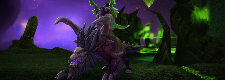 Compra World of Warcraft: Legion y monta sobre tu Acechador vil