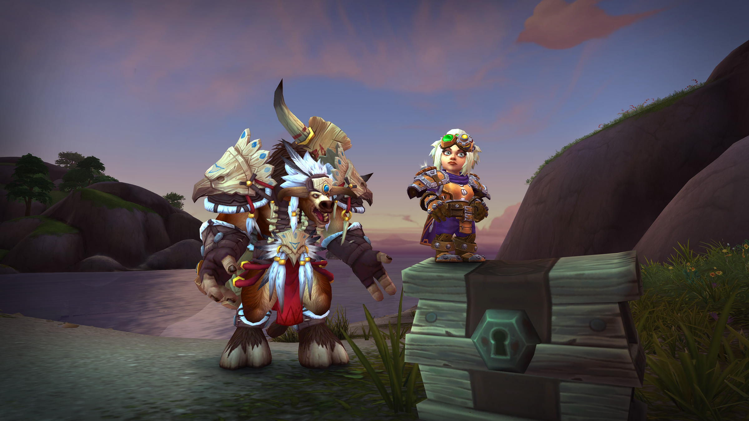 Rise Up and Stand Tall with New Tauren and Gnome Heritage Armor