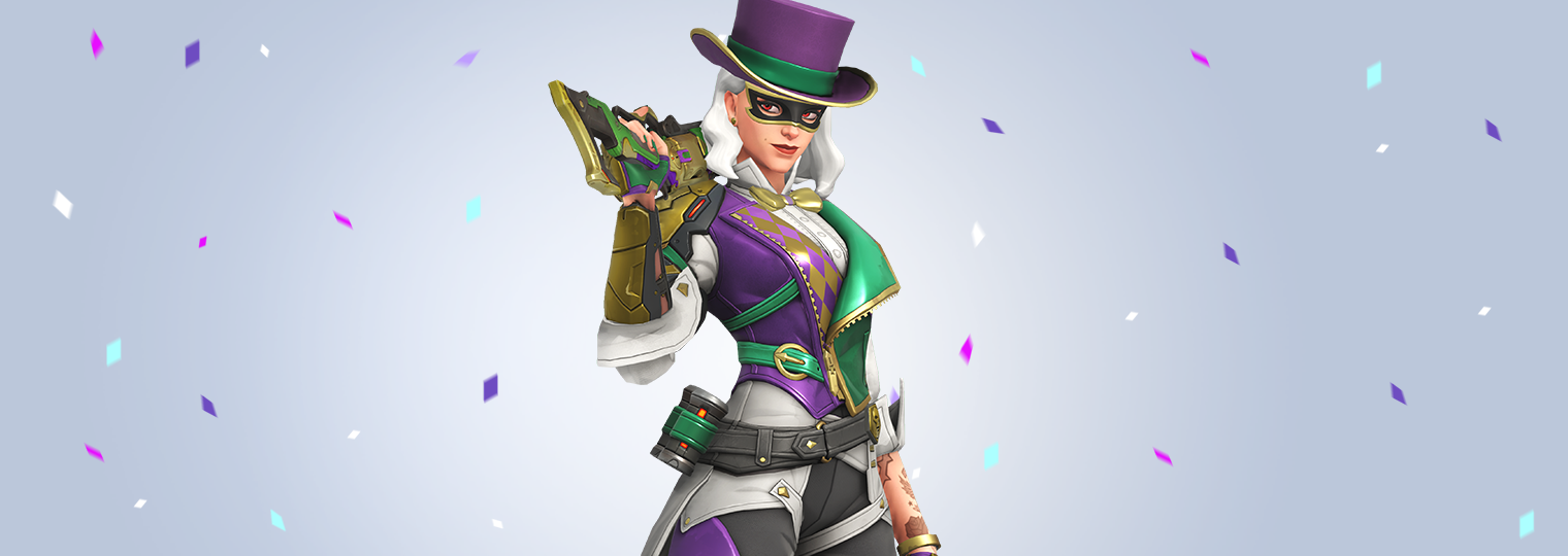 Join the Party in Ashe's Mardi Gras Challenge!