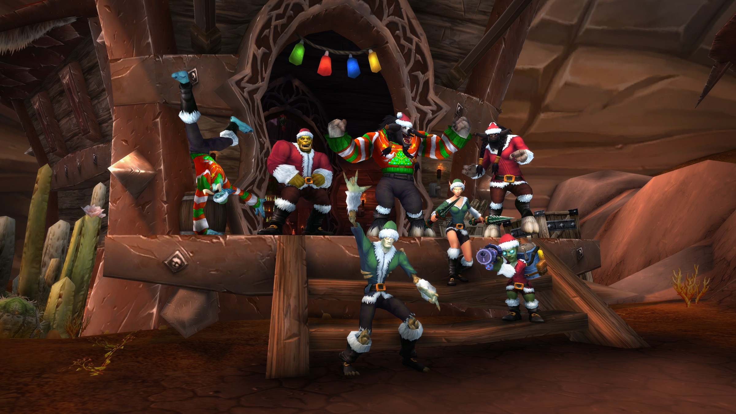 Don Your Holiday Apparel—The Feast of Winter Veil Has Begun!