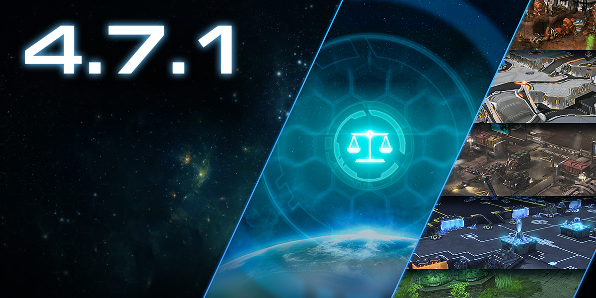 Notes de mise à jour pour la version 4.7.1 de StarCraft II