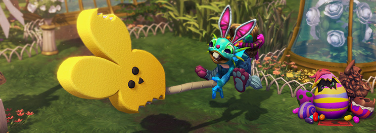 Celebrate Noblegarden with Funny Bunny Murky - Now Available!