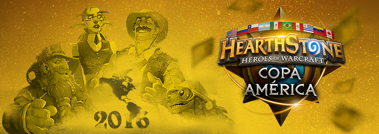 Blizzard Entertainment e VIU Studio anunciam a Copa América 2016 de Hearthstone