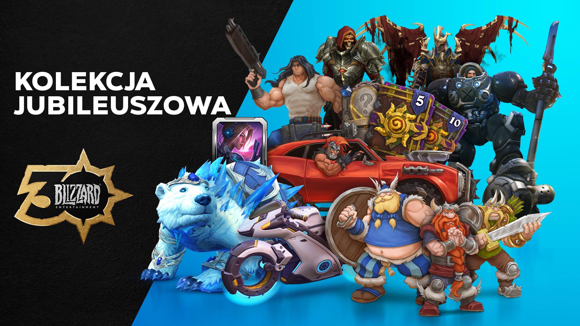 Uczcijcie 30 rocznicę Blizzard® z Kolekcją Jubileuszową