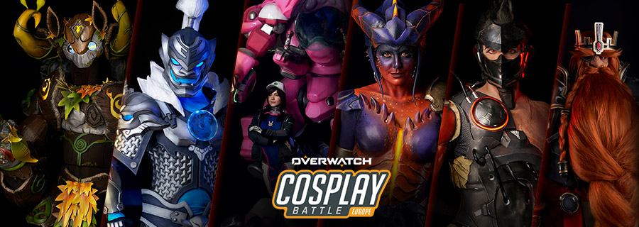 Overwatch Cosplay Battle: winners announced!