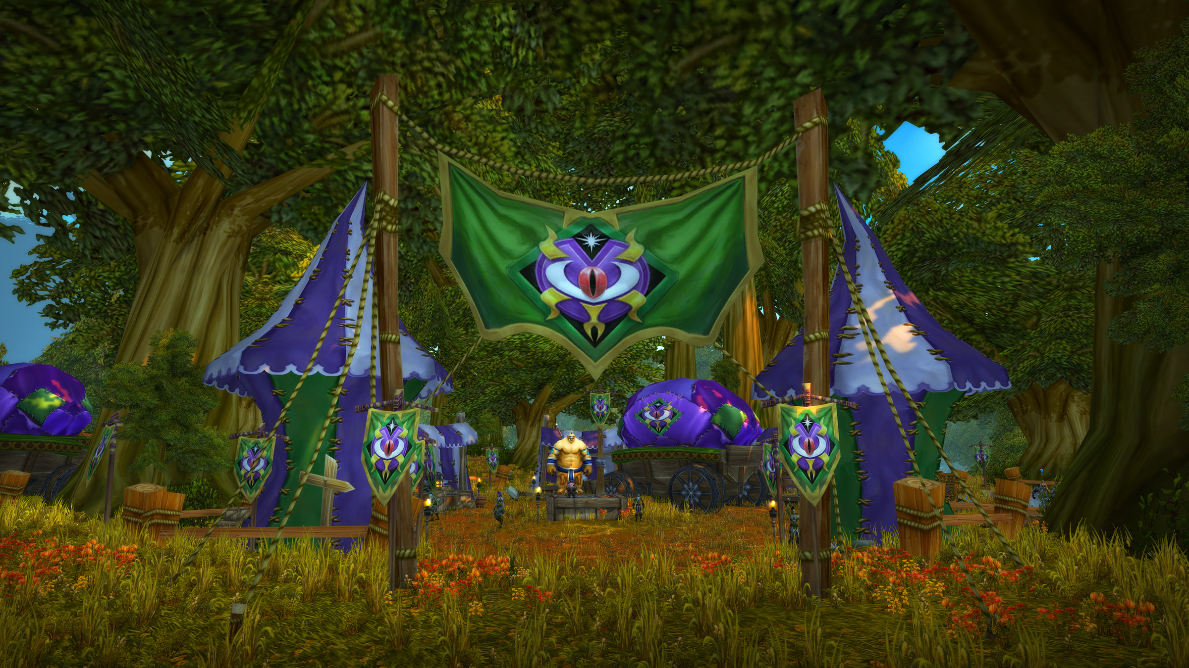 The Darkmoon Faire in WoW Classic