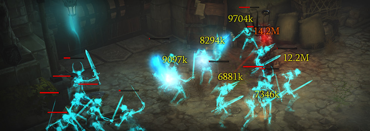 Engineering Diablo III's Damage Numbers