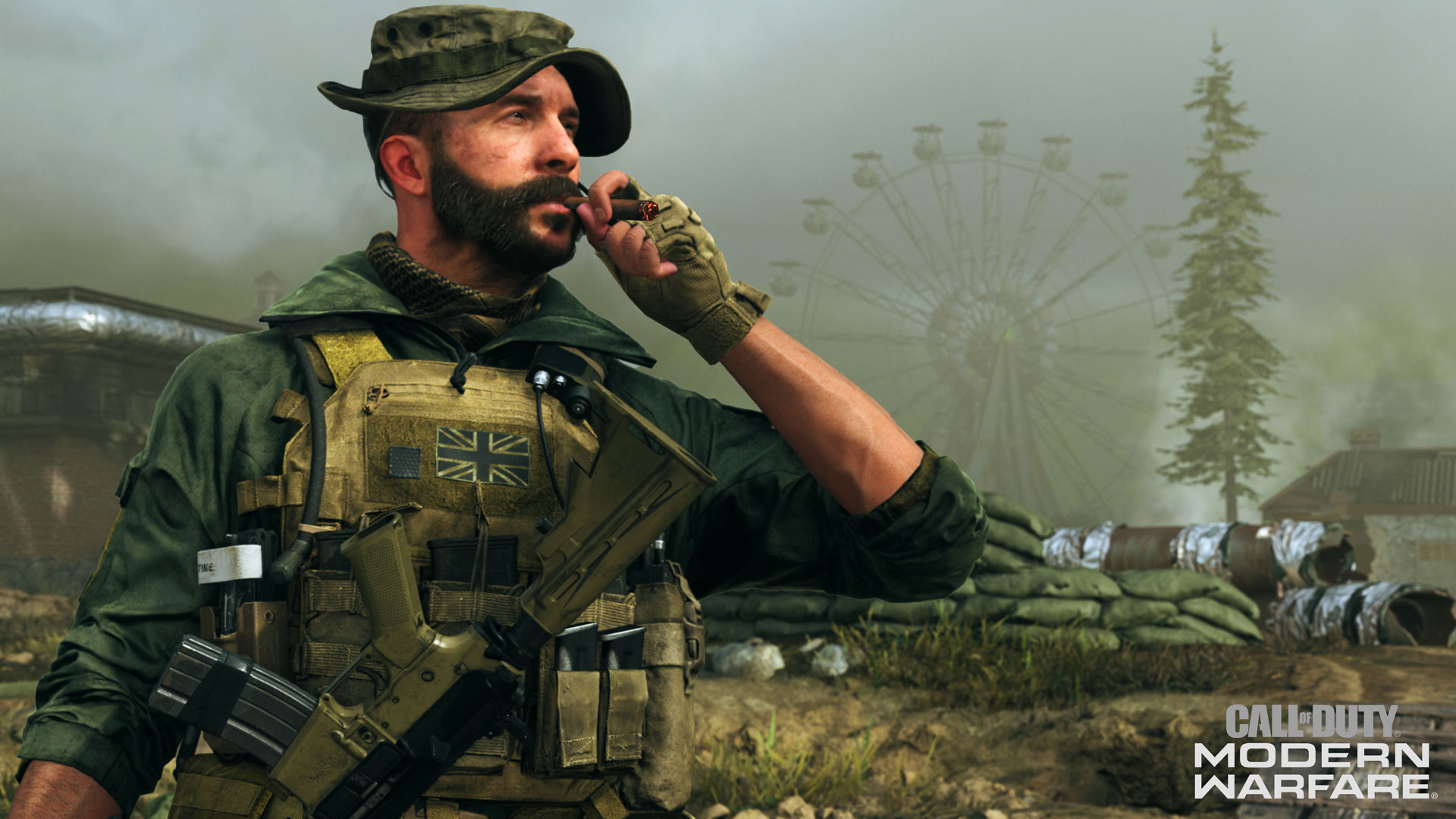 Command the field of battle with Captain Price, available in the Season Four Battle Pass