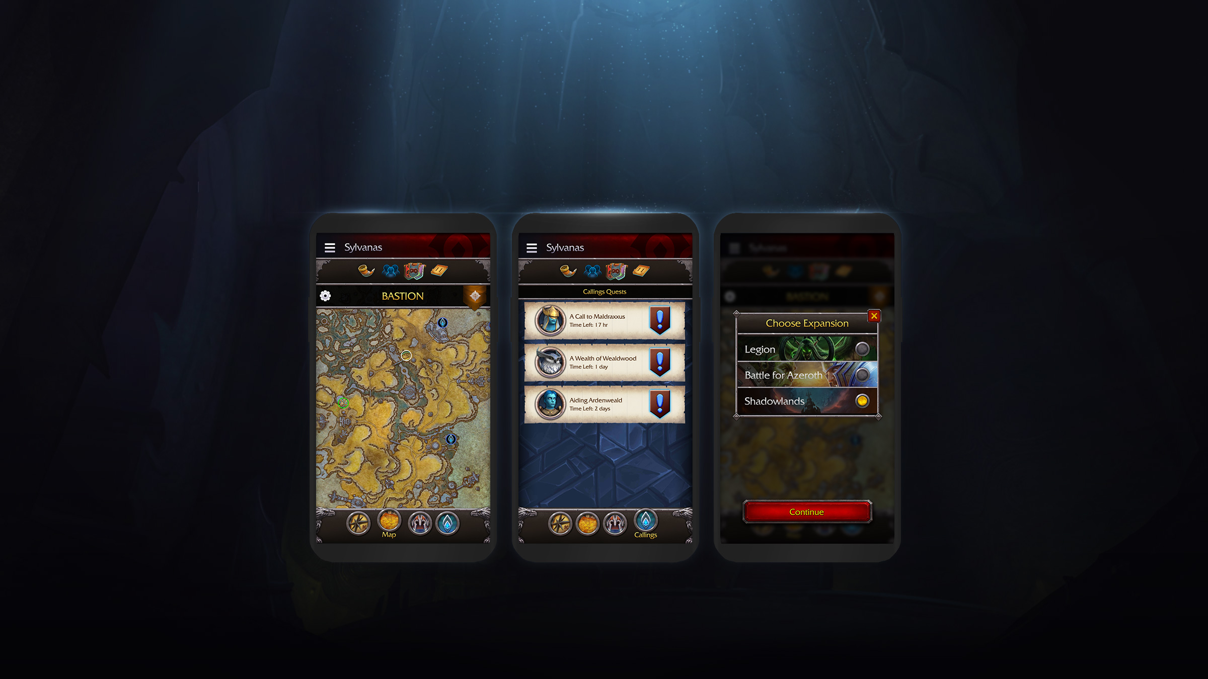 Shadowlands Preview: A New Look for the WoW Companion App
