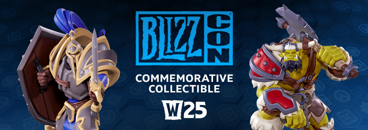BlizzCon 2019 Commemorative Collectible Celebrates 25 Years of