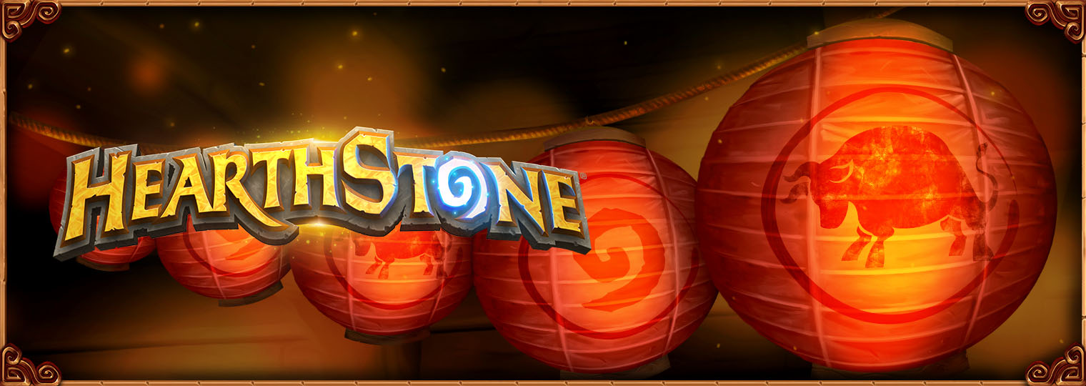 Celebrating Lunar New Year in Hearthstone!