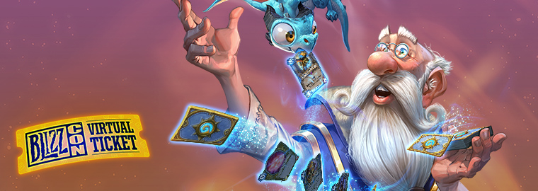 Catch Up on Hearthstone at BlizzCon with the Virtual Ticket