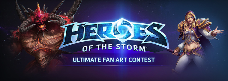 Heroes of the Storm Ultimate Fan Art Contest Semi-Finalists Revealed