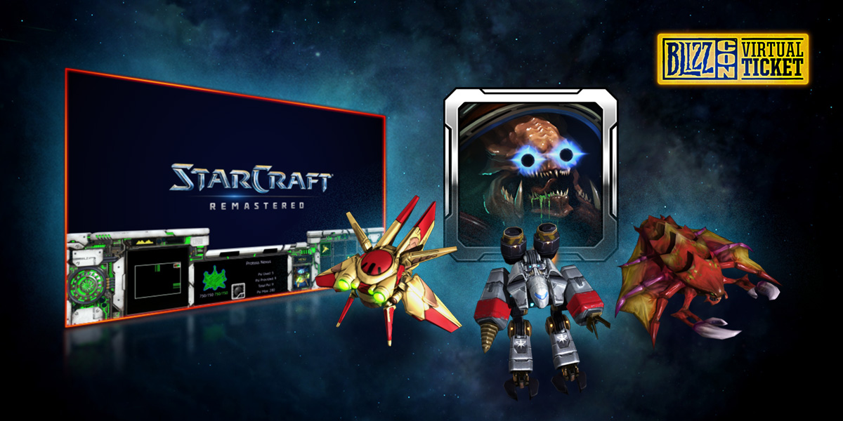 StarCraft BlizzCon In-Game Goodies Are Here - BlizzCon 2019