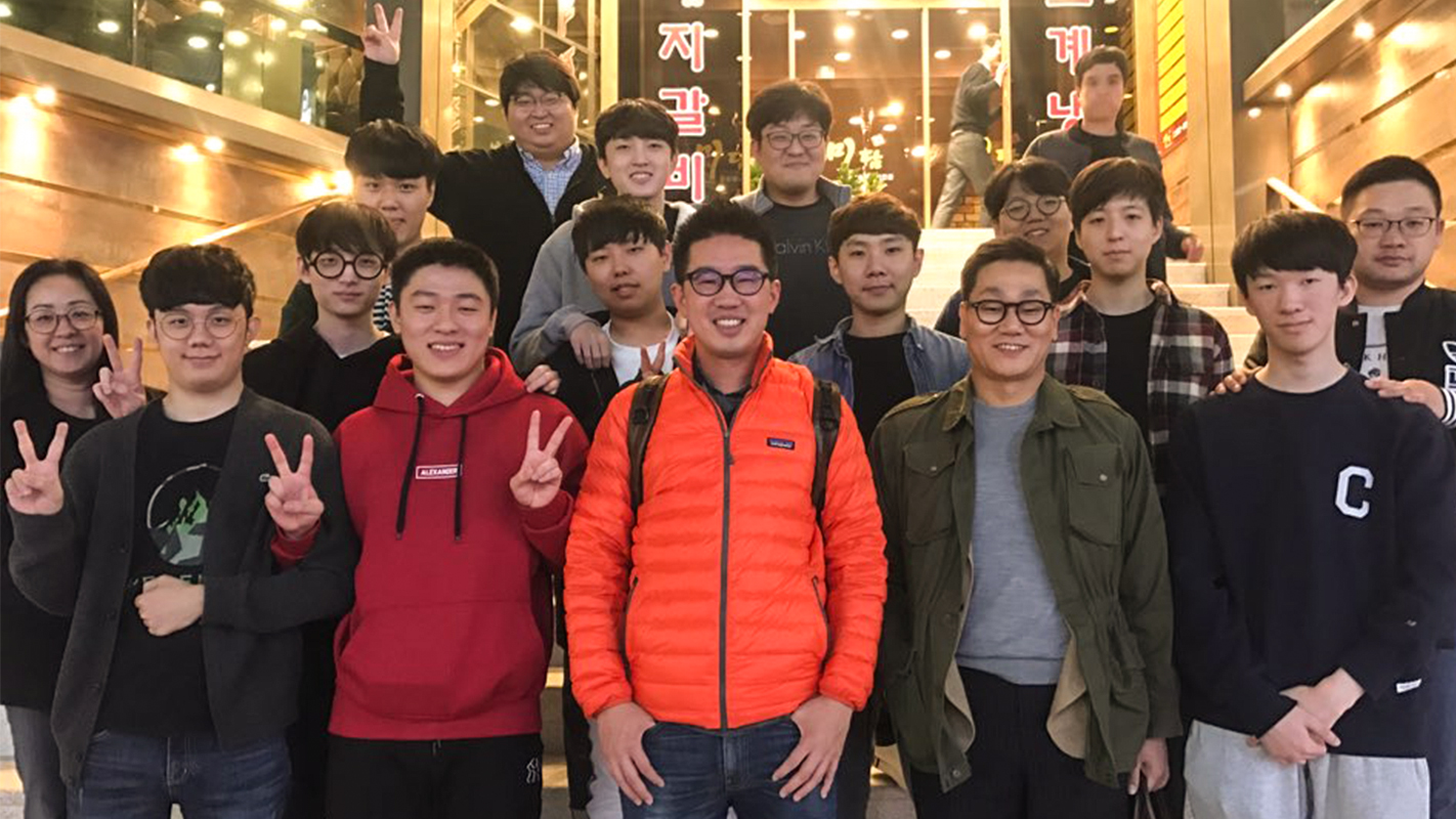 Miro and Ryujehong with Seoul Dynasty