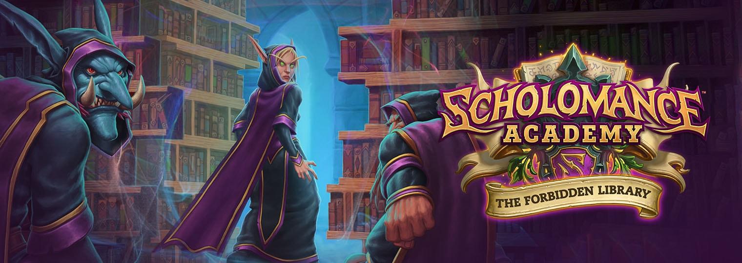 Who Dares Enter the Forbidden Library!?