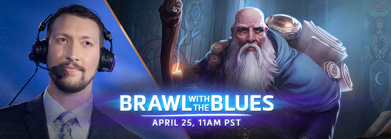 Brawl with the Blues: Deckard!
