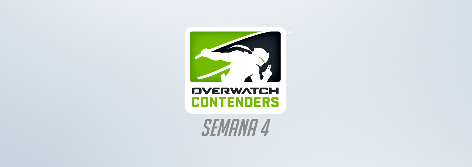 De olho nos playoffs, equipes disputam as finais da 4ª semana do Overwatch Contenders