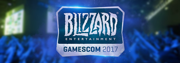 Blizzard Entertainment at gamescom 2017