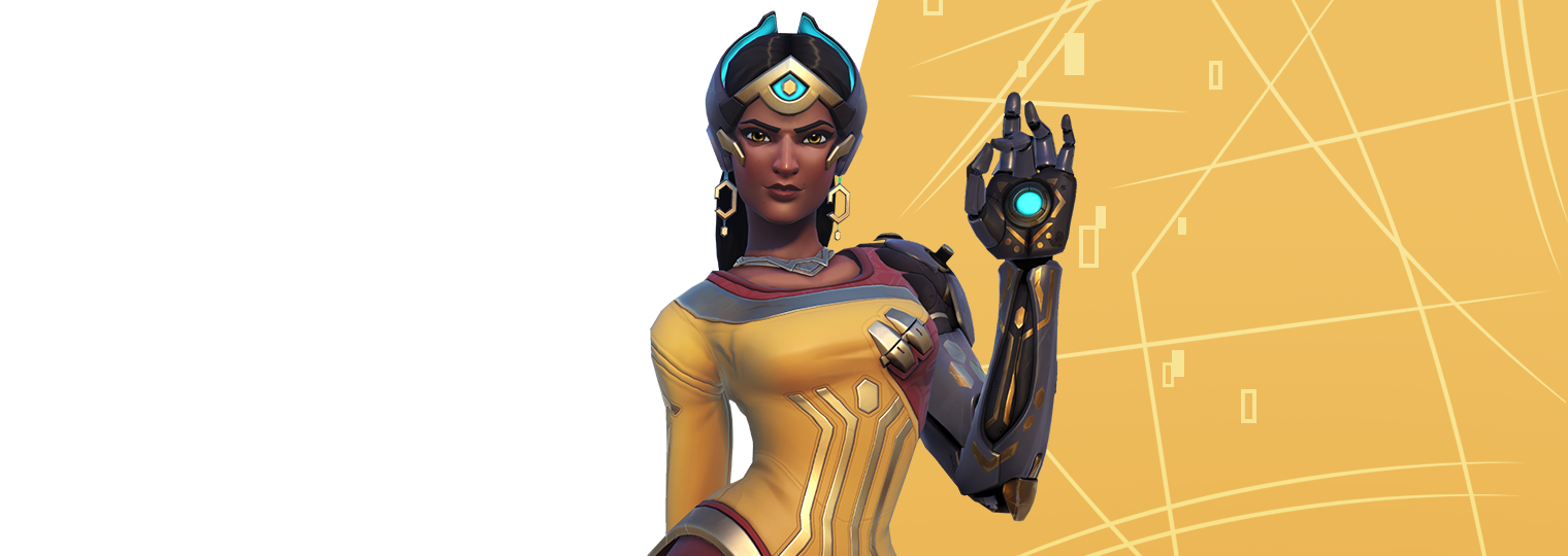 Restore order to the battlefield in Symmetra's Restoration Challenge!