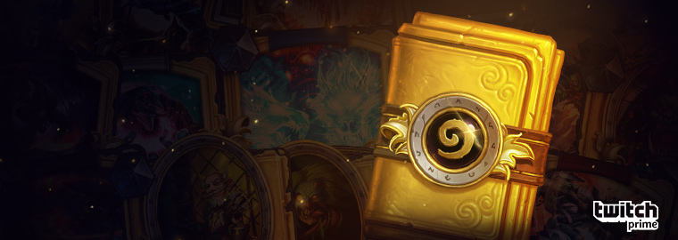 Get a Golden Classic Card Pack with Twitch Prime