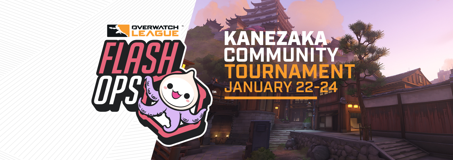 Preparati a lottare nell'Overwatch League Kanezaka Community Tournament