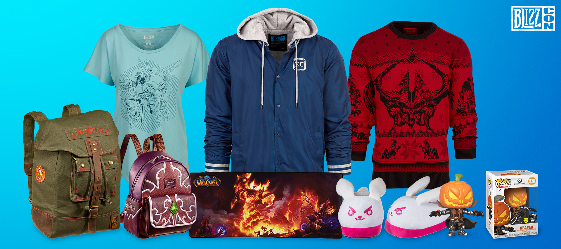 BlizzCon 2019 All-Access Gear Store Sale Now Live