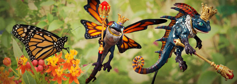 World's First Butterfly Cosplay – Part 2: Painting Monarch Brightwing