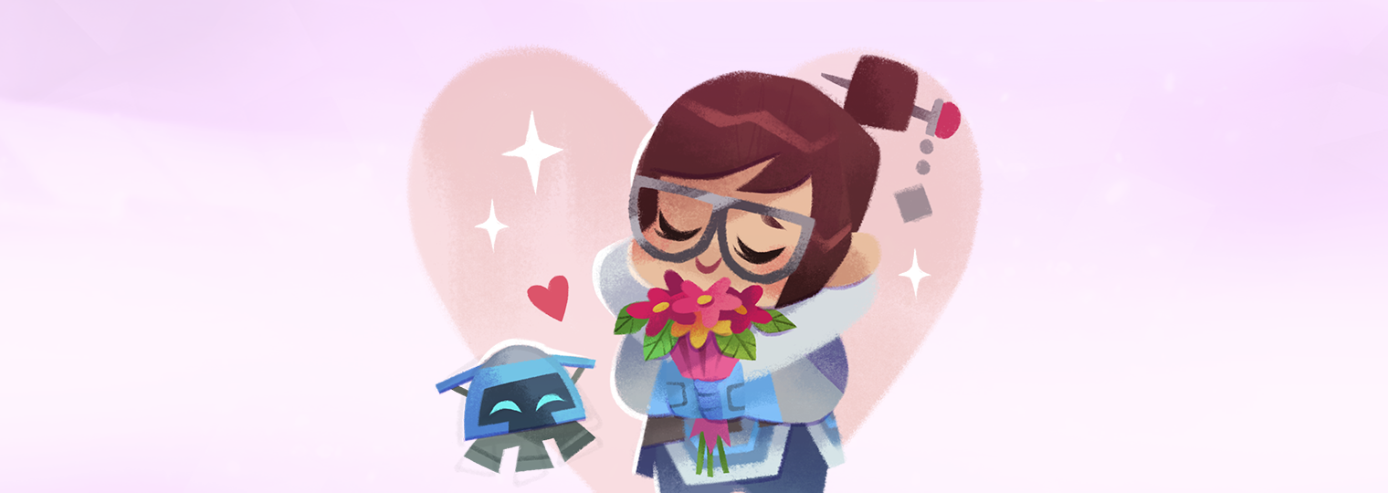 Cheers, love! The Overwatch Valentine's Day special is here!