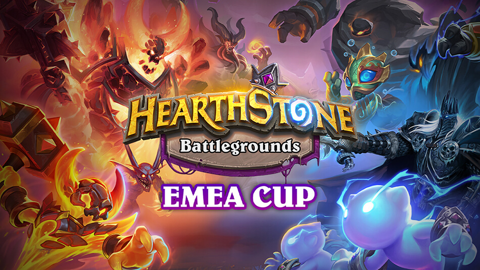 Watch This Weekend's EMEA Battlegrounds Cup!