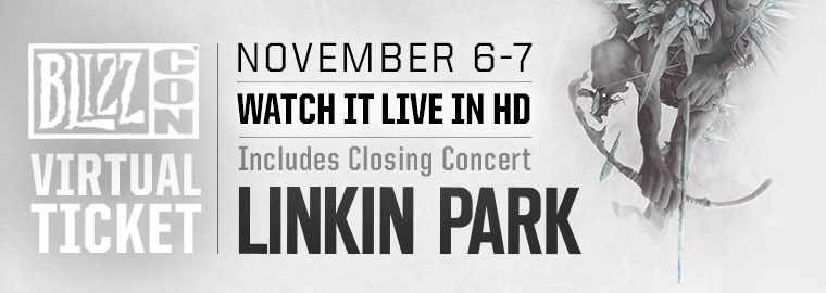 Linkin Park LIVE at BlizzCon® 2015!