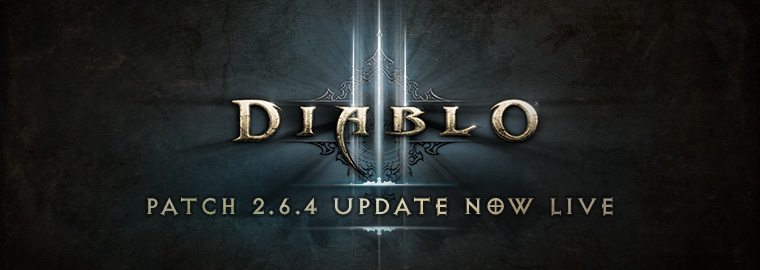 Patch 264 Now Live Diablo Iii