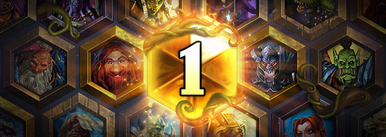 Hearthstone® April 2017 Wild Ranked Play Season Rankings