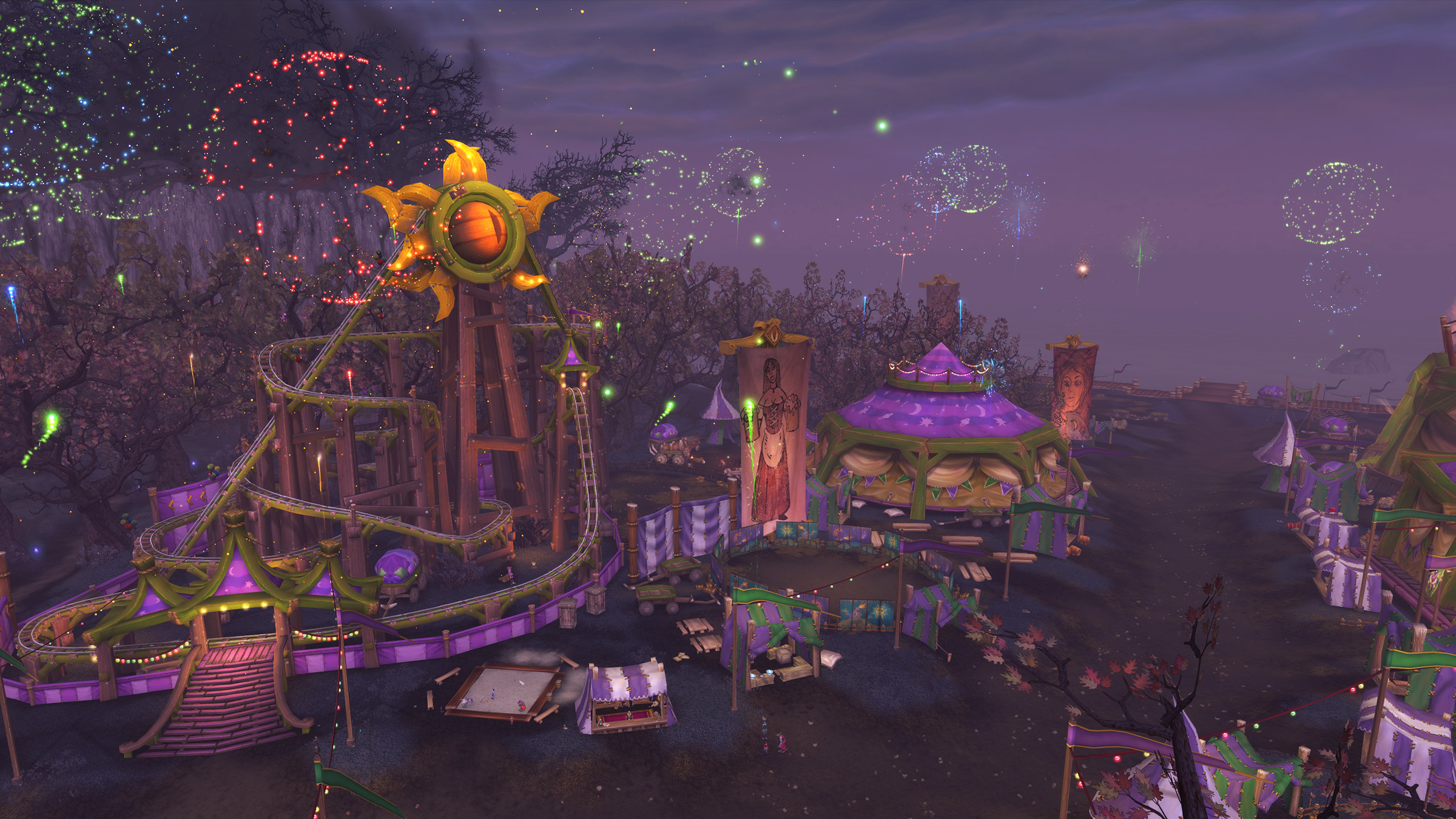 Meet Me at the Darkmoon Faire!