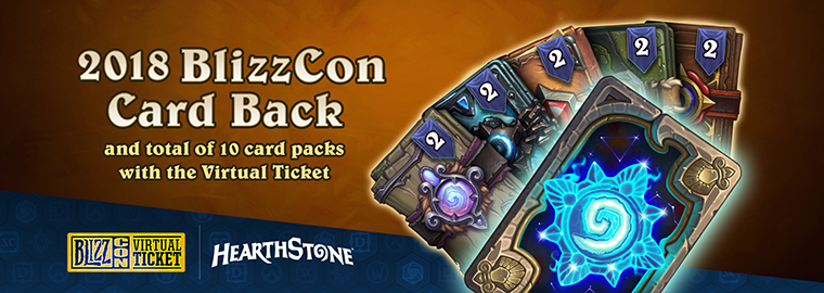 Beef Up Your Hearthstone Collection With the BlizzCon Virtual Ticket