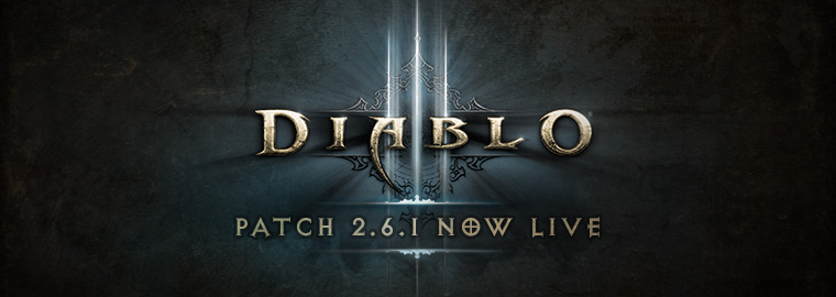 O patch 2.6.1 de Diablo III está no ar!